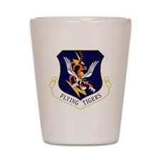 23rd FW Flying Tigers Shot Glass