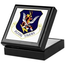 23rd FW Flying Tigers Keepsake Box