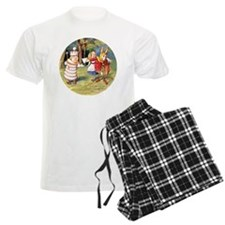 Alice THE WHITE KING_RD Pajamas