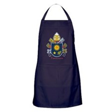 Pope Francis coat of Arms Apron (dark)