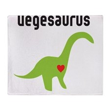vegesaurus Throw Blanket