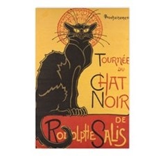 Chat Noir by Theophile Al Postcards (Package of 8)