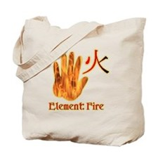 Fire Element Tote Bag