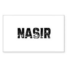 Nasir Rectangle Decal