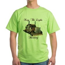 Keep The Lights Burning T-Shirt