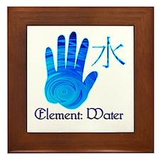 Water Element Framed Tile