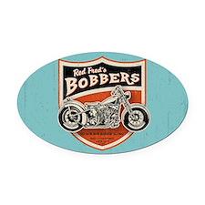 bobs-bobbers-OV Oval Car Magnet