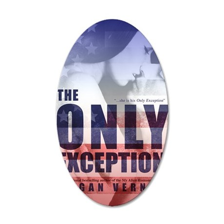 The Only Exception cover 35x21 Oval Wall Decal