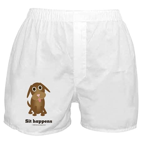 Sit happens Boxer Shorts