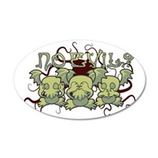 No Evil Cthulhu Wall Decal