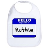 hello my name is ruthie  Bib