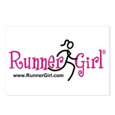 RunnerGirl Postcards (Pk of 8)