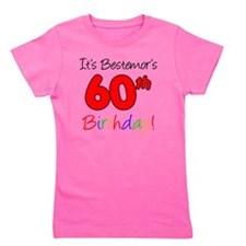 Bestemors 60th Birthday Girl's Tee