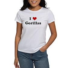 I Love Gorillas Tee