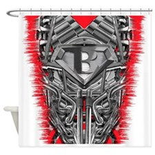 Super steam B Shower Curtain