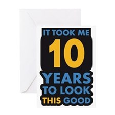 10_years Greeting Card