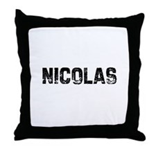 Nicolas Throw Pillow