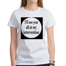interventionbutton Tee