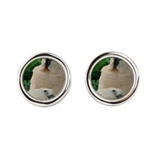 Rocky   Sasha In  Ferns Cufflinks