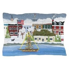 Annapolis Christmas Pillow Case