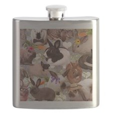 HappyBunniesBlanket Flask