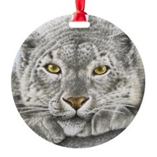 Snow Leopard King Duvet Ornament
