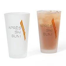 Après Ski Bum Drinking Glass