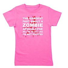 Zombie Apocalypse Girl's Tee