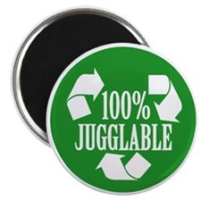 100% Jugglable (Green) Magnet