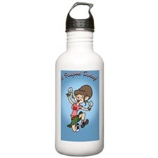 i-poop-fem-CRD Water Bottle