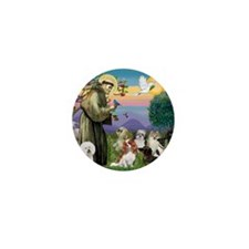 1 - 8x10-StFrancis-10dogs Mini Button