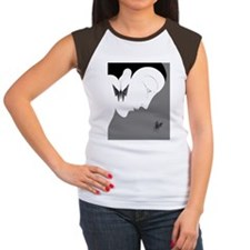 Art Deco Lady And Butte Tee