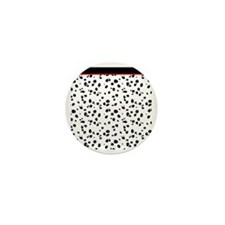 Dalmatian Animal Print Mini Button
