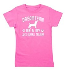 Jack Russell Terrier Dog Designs Girl's Tee