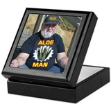 Aloe Man Keepsake Box