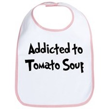 Addicted to Tomato Soup Bib