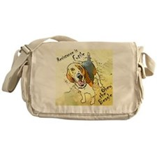 Obey the Beagle Messenger Bag