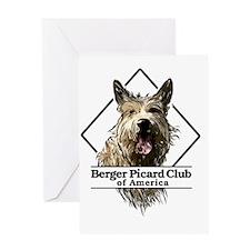 bpcoa_front_logo Greeting Card