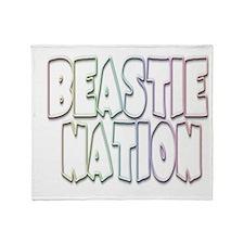 Beastie Nation Throw Blanket
