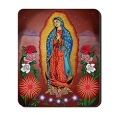 Virgin of Guadalupe Mousepad