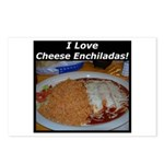 I Love Cheese Enchildas Postcards (Package of 8)