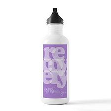 Purple Recovery Water Bottle