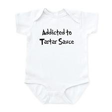 Addicted to Tartar Sauce Infant Bodysuit