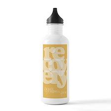 Orange Recovery Water Bottle