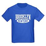 Brooklyn New York Kids Dark T-Shirt