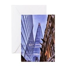 The Shard - London Greeting Card