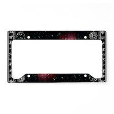 zodiac black License Plate Holder