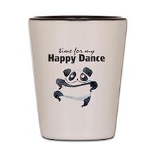 Happy Dance Panda Shot Glass