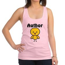 Author Chick Racerback Tank Top