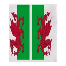 Welsh Flag Throw Blanket